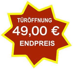 Endpreis Türöffnung Hannover