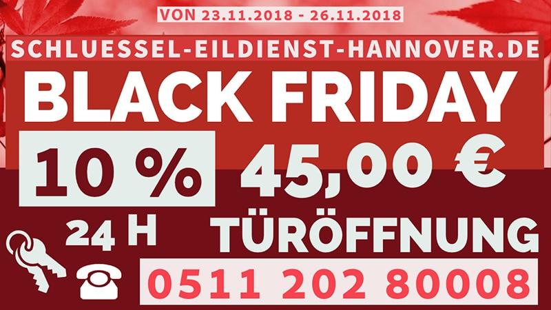 Black Friday Schlüsseldienst Hannover