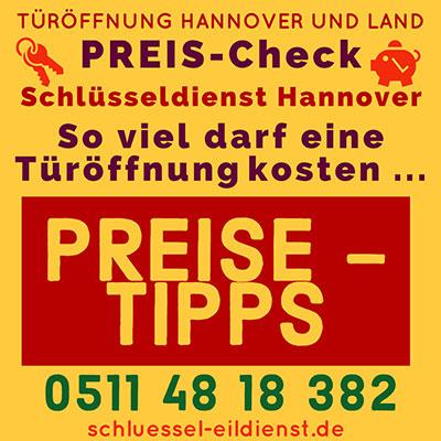 Schluesseldienst Hannover Preise Kosten