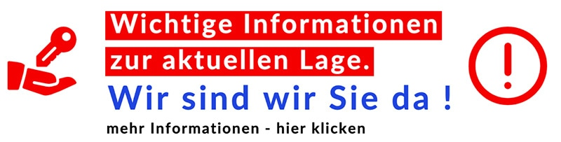 Infos zu Corona Pandemie und Schlüsseldienst Hannover Leistungen.