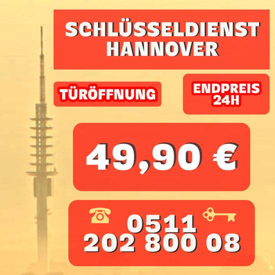 Seriöser Schlüsseldienst, Schlüsselnotdienst Hannover